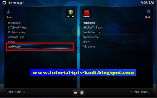 Easy steps for Install Xunitytalk Repository on Kodi with illustrations