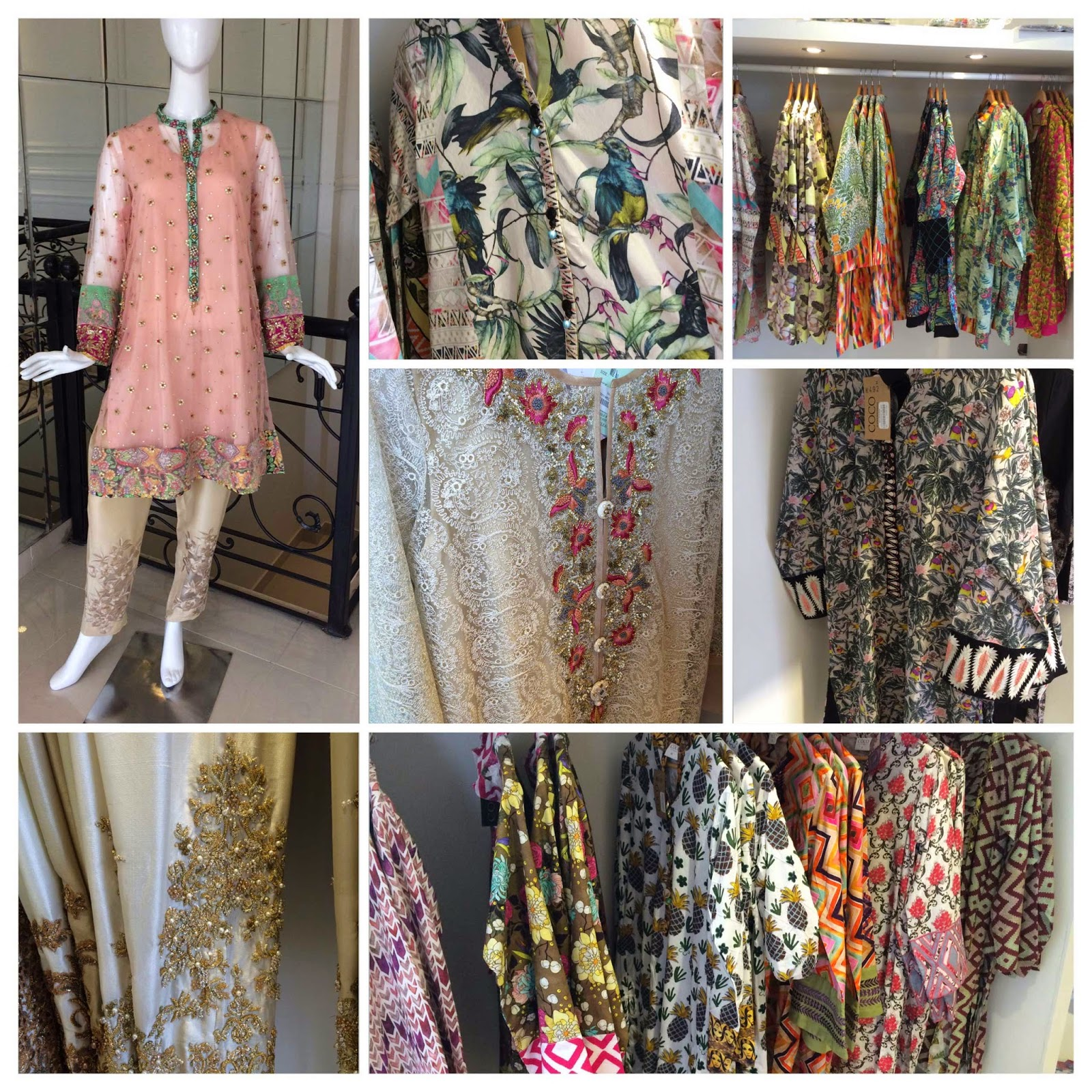 formals and cottons in store