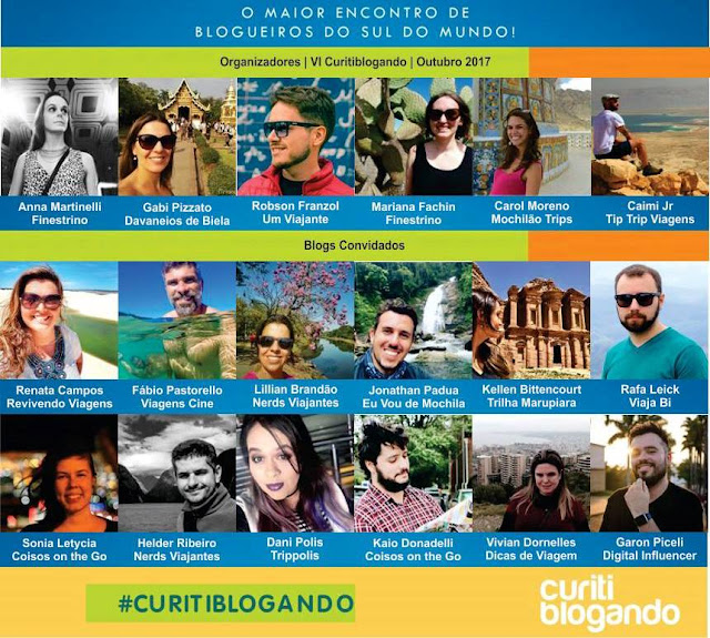Blogs Participantes do Curitiblogando 2017