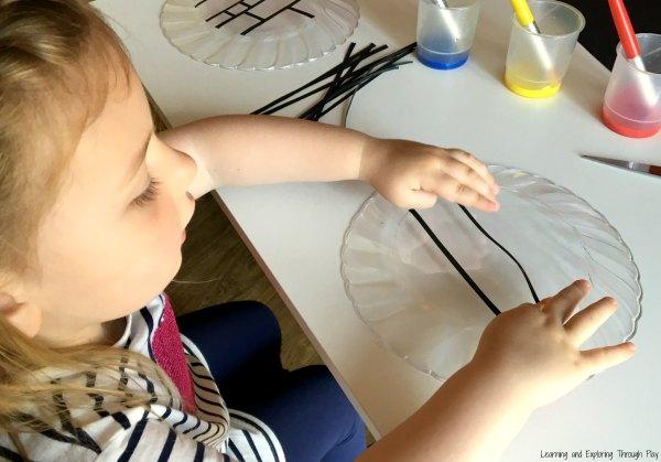 Piet Mondrian Preschool Art
