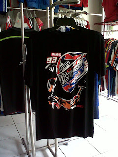 Jual Tshirt Marc Marquez Rossi Helm di toko jersey jogja sumacomp, murah berkualitas