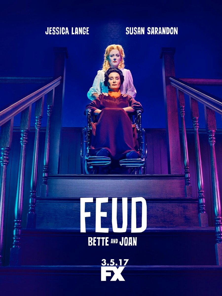 FEUD: Bette and Joan -  Poster serie