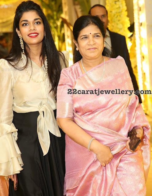 Srija Konidela and Surekha Jewellery