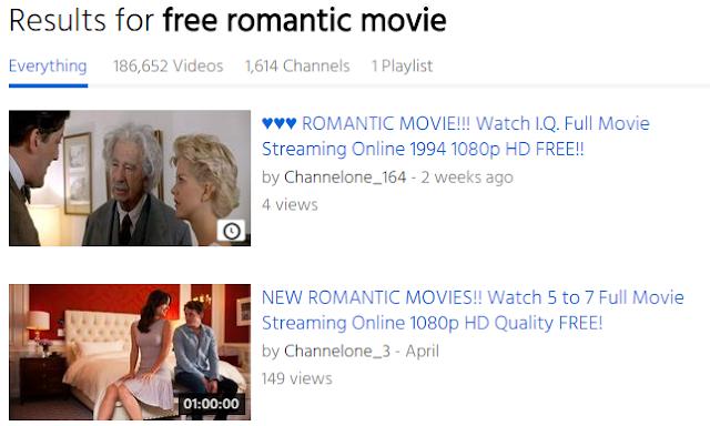free romantic movie
