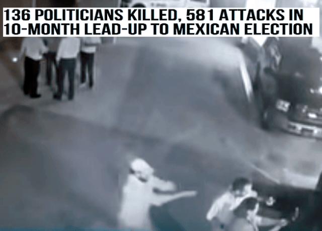 """""""581 ATAQUES"""": """"NO LLEGARON al DOMINGO"""" 136 POLITICOS ASESINADOS"""