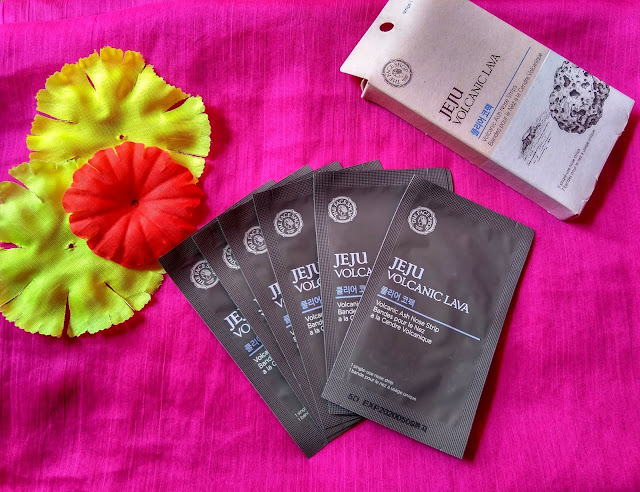 The Face Shop Jeju Volcanic ash nose strips Review