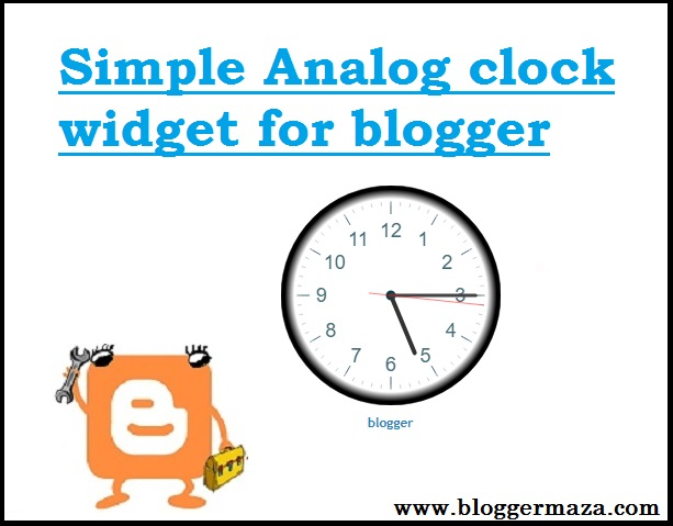 simple-analog-clock-widget-for-your-blogger-blog
