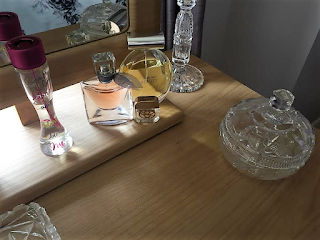 memories, nan, grandparents, love, happiness, family, through amis eyes, blog, purfume, dressing table, glass,