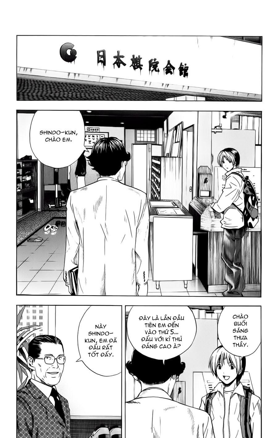 Hikaru No Go hikaru no go chap 152 trang 10