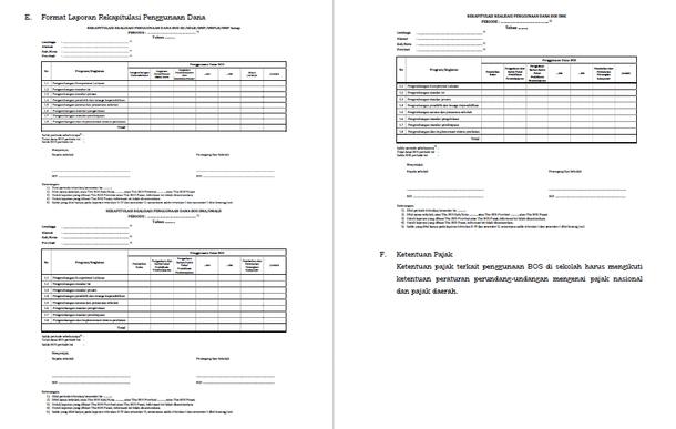 Pertanggungjawaban Keuangan Bos Sesuai Permendikbud No 8
