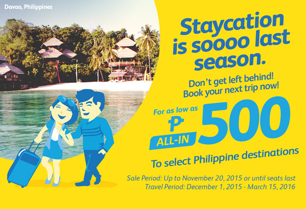 Cebu Pacific Domestic Promo 2016