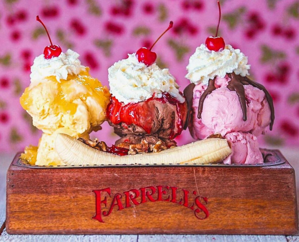 All March | Farrell's in Buena Park Offers BOGO FREE Entrees!
