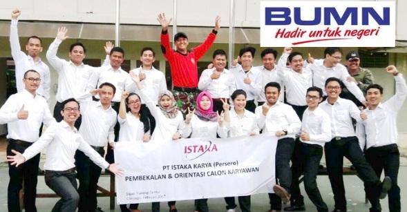 Lowongan Kerja BUMN PT. Istaka Karya, Jobs: Management Trainee.