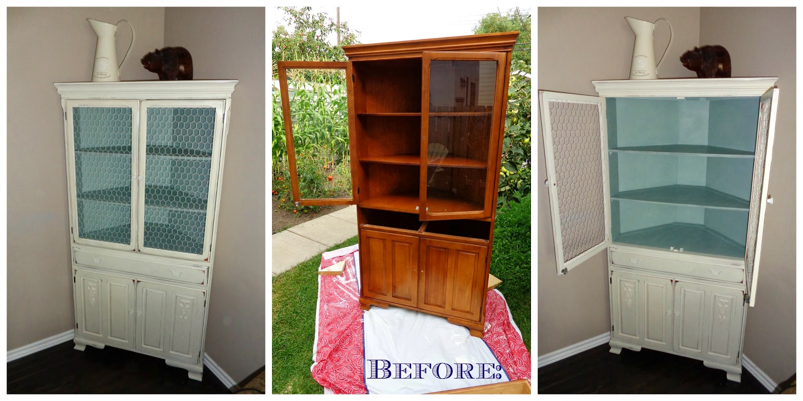 How I Ve Painted And Transformed The China Cabinet