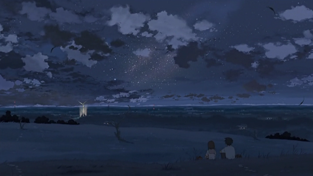 anime journeys 5 centimeters per second fields
