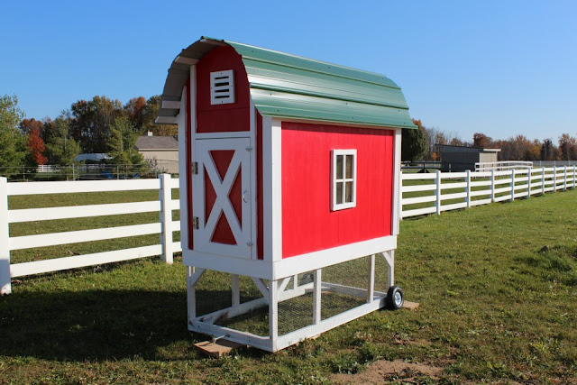 Big Red Barn Chicken Coop Ideas