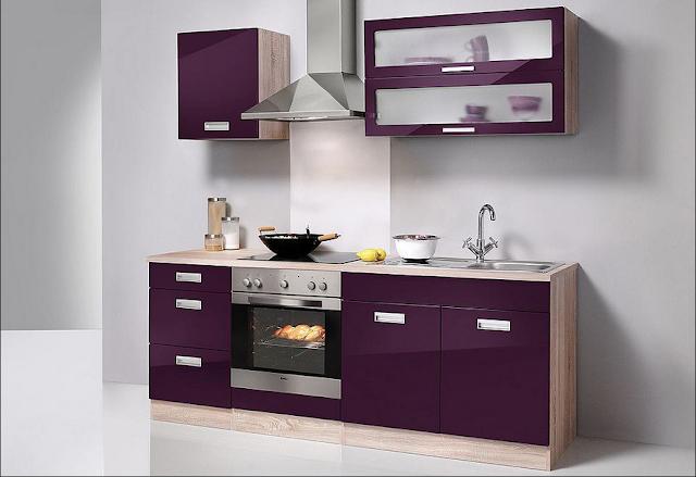 Küchenzeile 260 Cm Mit Elektrogeräten
