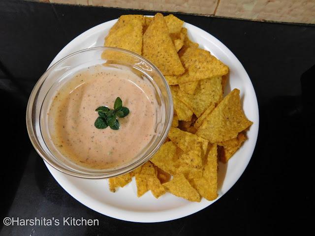 creamy dip for nachos recipe