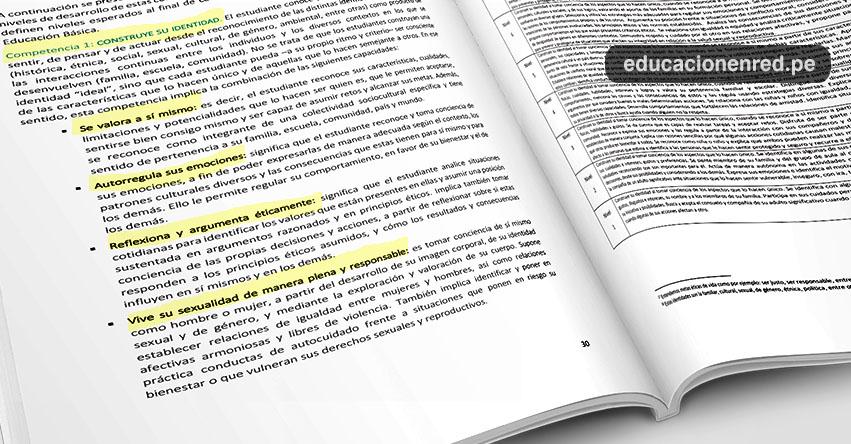 DEBATE: Sepa qué dice la polémica página 30 del Currículo Nacional