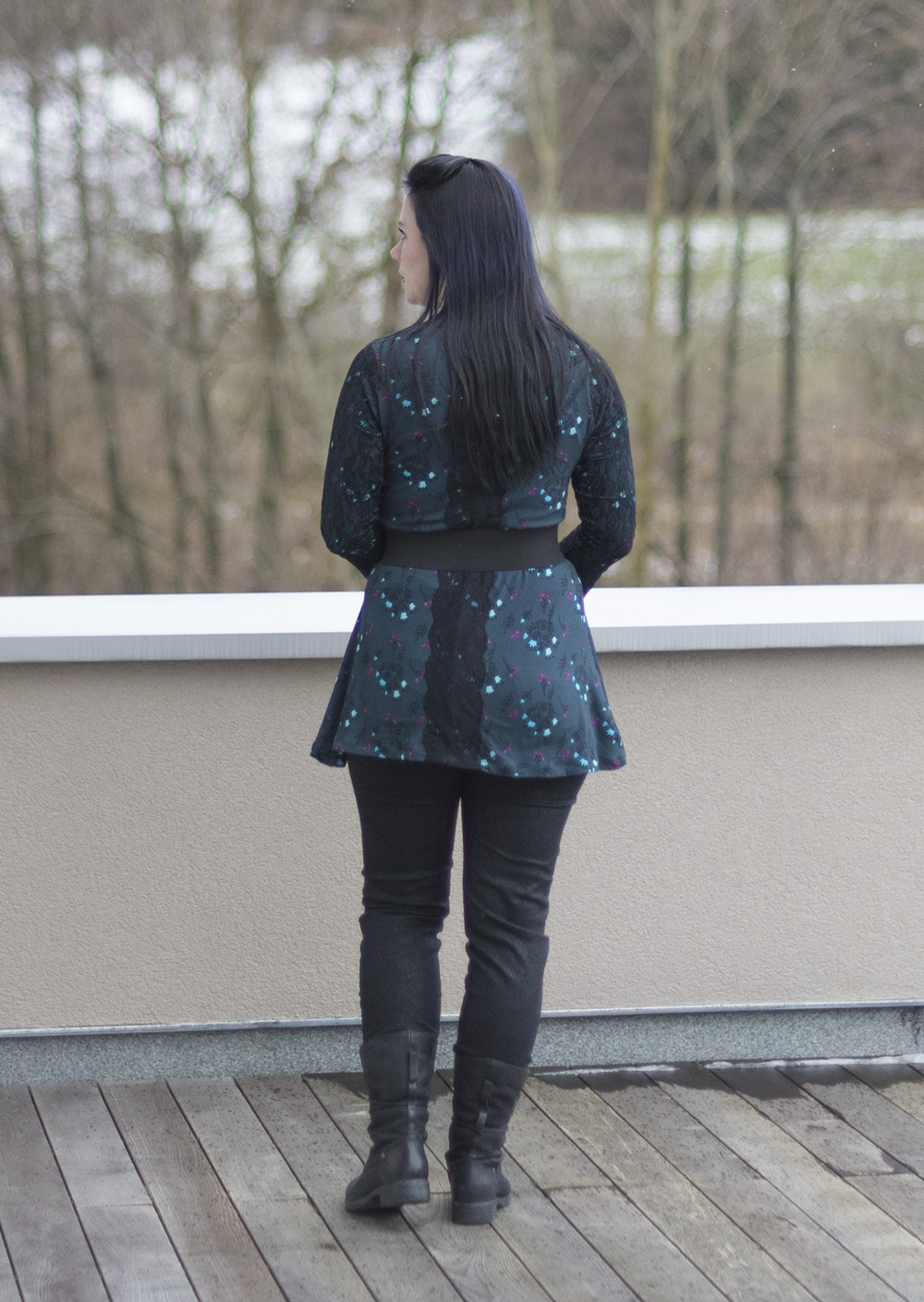 Spring Sewing a Bell Sleeve Top (Ellie & Mac pattern) rocking style selfmade fashion