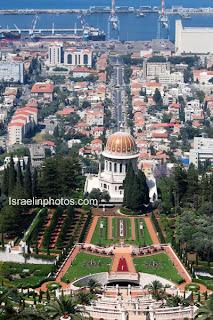Israel Reisgids: Haifa - Terrassen van het Heiligdom van Ba'b