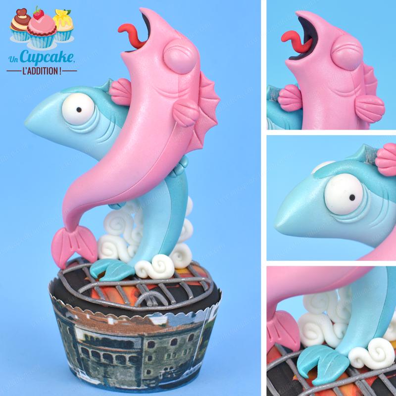 Cupcakes Hendayais : Jokin & Kattalin, les Sardines ou les Sardinades du Port de Kaneta