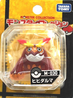 Darmanitan figure Takara Tomy Monster Collection M series