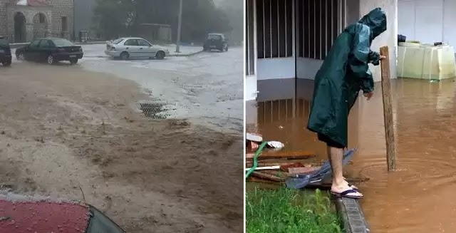 Πλημμύρες σε Κοζάνη, χαλάζι σε Ιωάννινα [εικόνες & βίντεο]