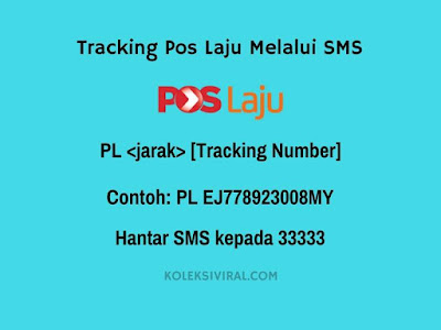Check tracking melalui sms
