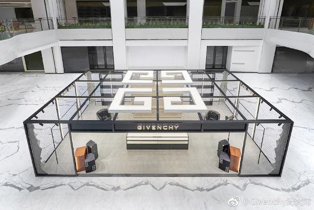 Givenchy Popup Wu Jinyan Xu Kai