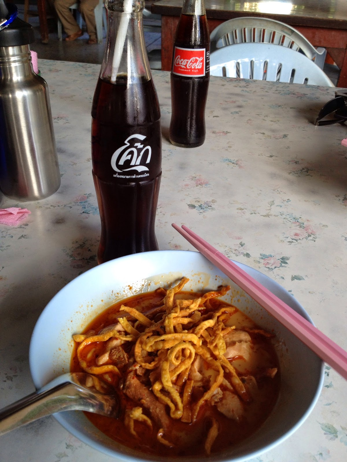 Chiang Mai - I loved khao soi so much that we went in search of more right after our cooking  class