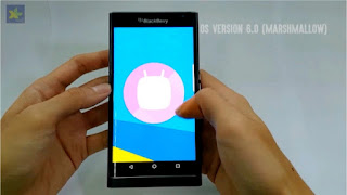 Blackberry Priv. Provide Update Android Marshmallow On May