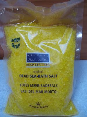 Mineral Beauty System - Morská soľ do kúpeľa  s vôňou citrónovej trávy