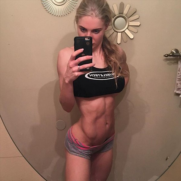 Fitness Model Katie Miller @ktmillerfit Instagram photos
