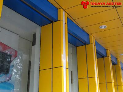 Aluminium Composite Panel, Letter Acrylic, Neon Box, Proyek Surabaya