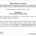 SBI Notice regarding SBI Clerk 2018 Venue Change for Patna Centre