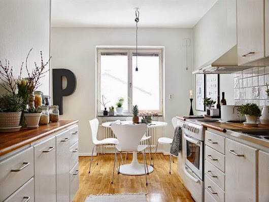 New Cozy Kitchen Interior With Strong Modern
