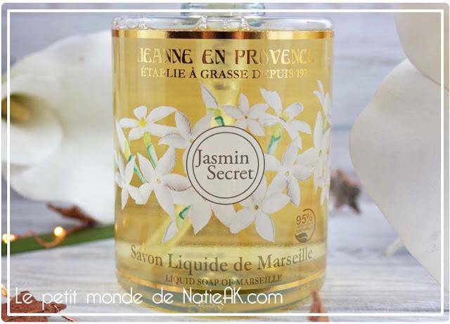 Savon liquide de Marseille Jasmin secret Jeanne en Provence