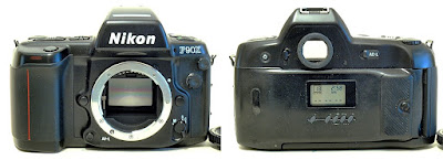 Nikon F90X with MF-25 Back #066