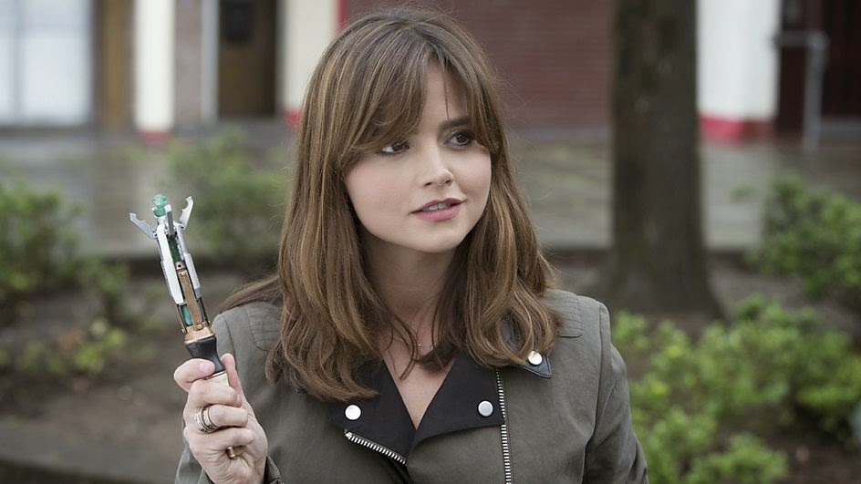 Clara takes the role of the Doctor
