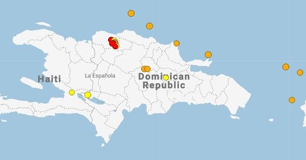 7 Sismos Han Sacudido Al Caribe En Las últimas Horas.
