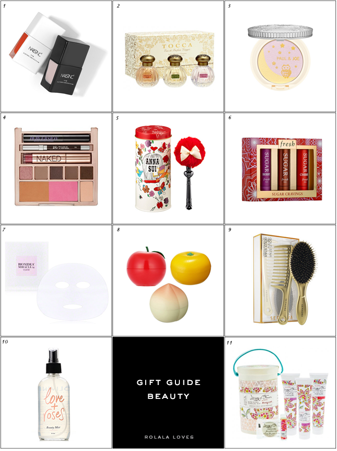 Gift Guide, Beauty Gift Guide