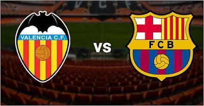 Prediksi Valencia vs Barcelona 11 Februari 2016