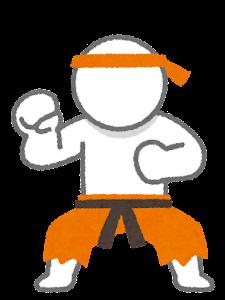 RPGのキャラクターのイラスト(武闘家)