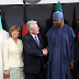 NEWS: Senate President Bukola Saraki Receives German President At The National Assembly!