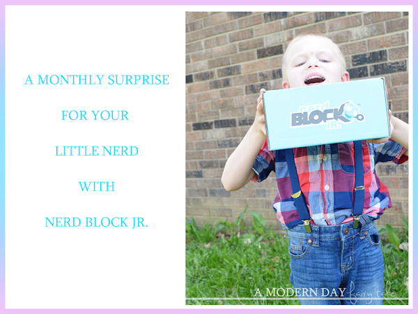 A Monthly Surprise For Your Little Nerd with Nerd Block Jr