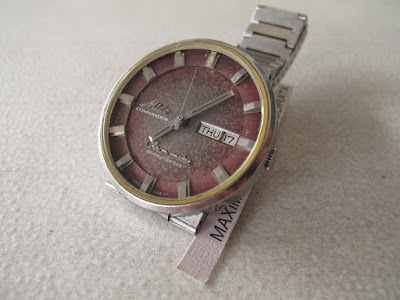 mido commander chronograph