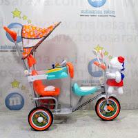 family ubur-ubur sepeda roda tiga anak