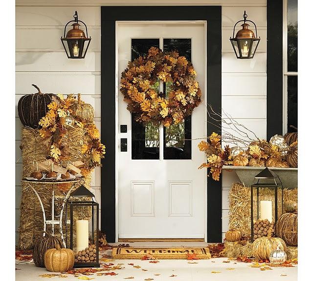 Fall Door Displays: Little Inspirations: September 2011