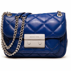 Michael Kors small sloan quilted bag, Michelle Louise Love